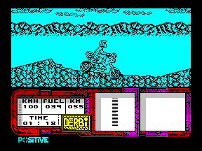 African Trail Simulator - ZX Spectrum